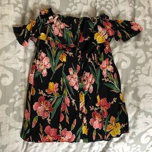 Off the shoulder Nordstrom dress